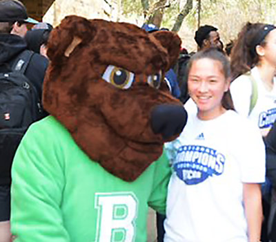 Brookhaven's mascot The Bear