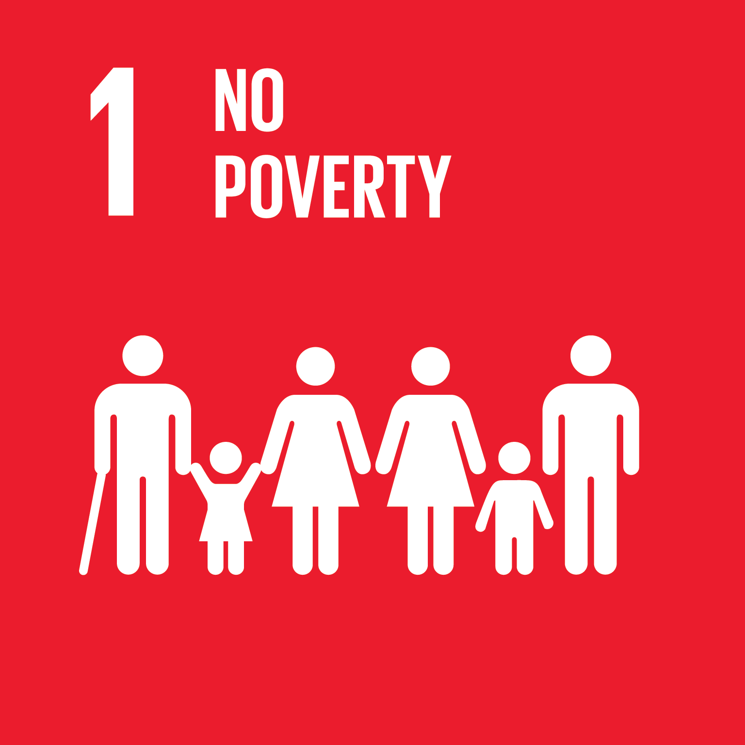 Goal 1: No Poverty, the text of this infographic is listed below