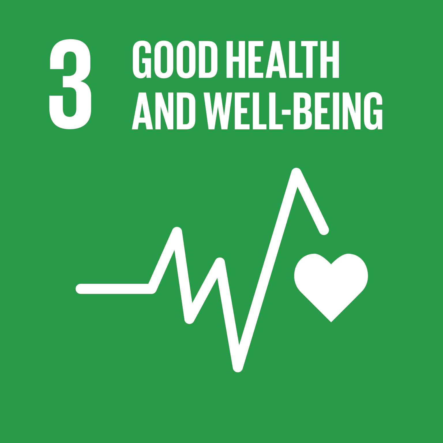 Goal 3: Good Health And Well-Being, the text of this infographic is listed below