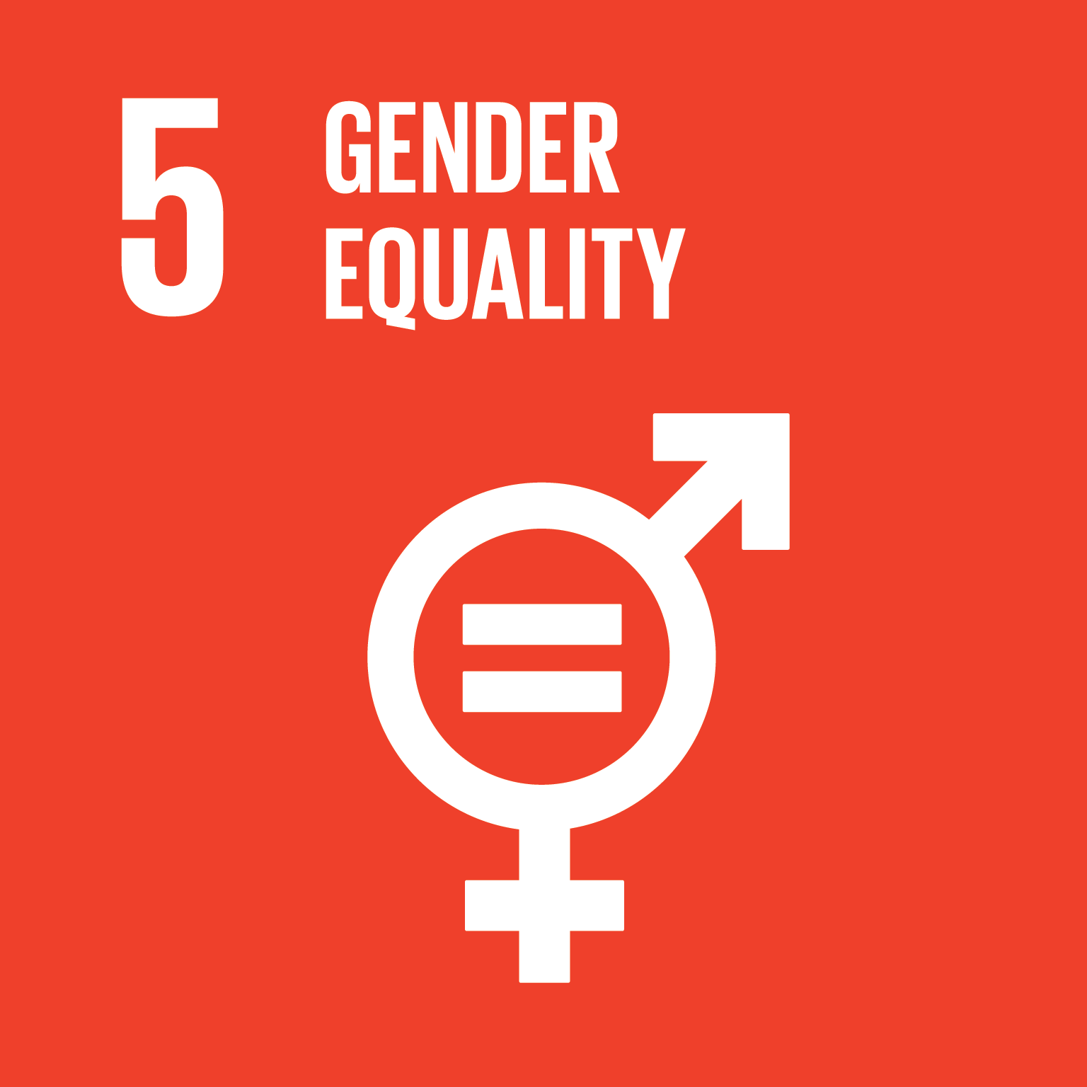 Goal 5: Gender Equality, the text of this infographic is listed below