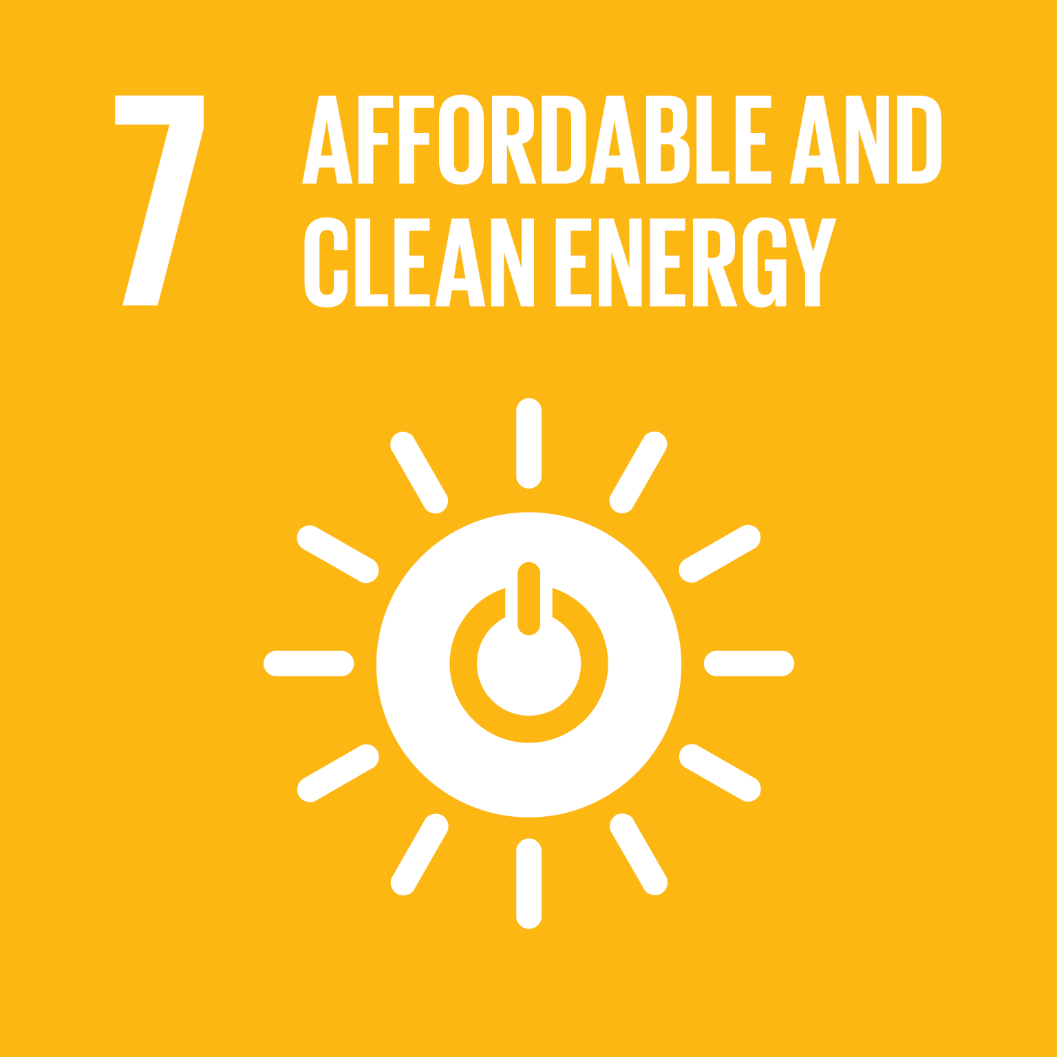 Goal 7: Affordable Clean Energy, the text of this infographic is listed below