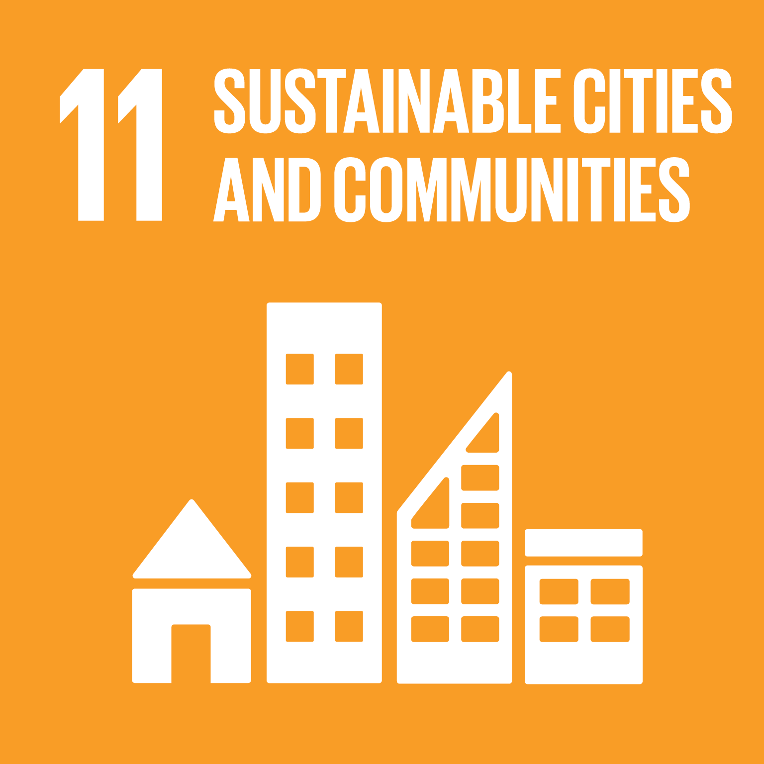 Goal 11: Sustainable Communities, the text of this infographic is listed below