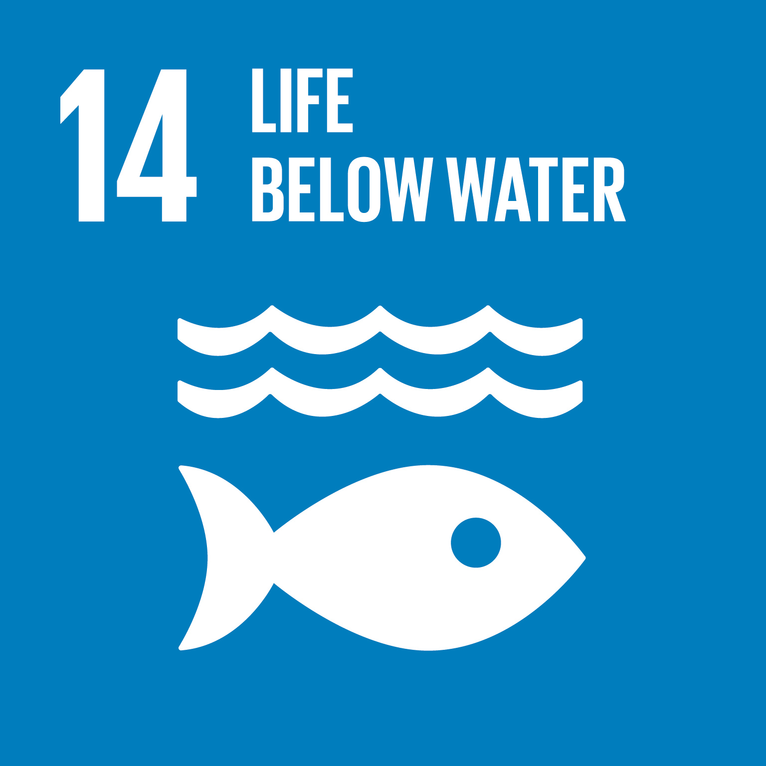 Goal 14: Life Below Water, the text of this infographic is listed below