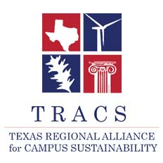 Texas Regional Alliance for Campus Sustainability (TRACS) Logo