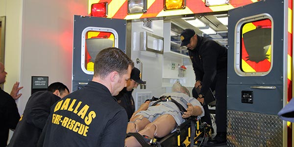 Become an EMT or Paramedic at Dallas College