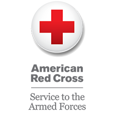 American Red Cross Service to Armed Forces Logo