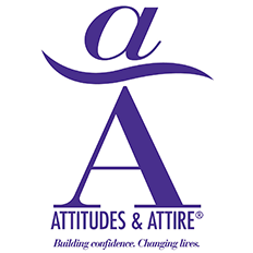 Attitudes and Attire Building Confidence. Changing Lives. Logo