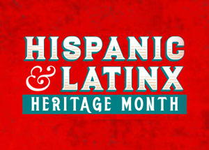 Hispanic and Latinx Heritage Month logo